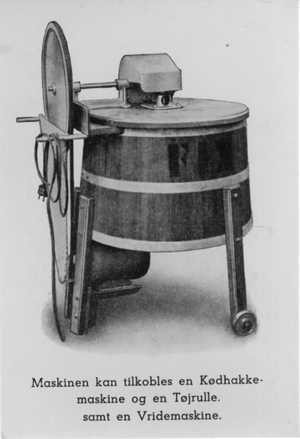 gammeldags fix vaskemasksine